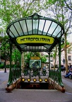 Paris - Montmartre - Métro Abbesses